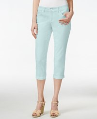 Vintage America Boho Cropped Jeans Only At Macy's Bleached