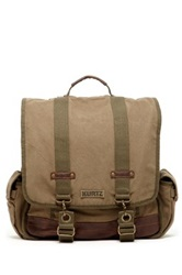 A. Kurtz Maplewood Courier Backpack Green