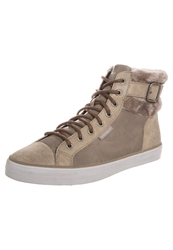 Esprit Star Hightop Trainers Taupe
