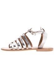 Warehouse Sandals Silver