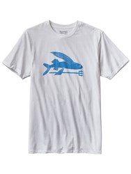 Patagonia Flying Fish T Shirt White