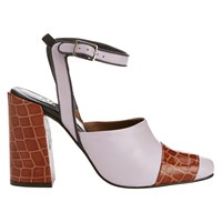 Finery Forever Pieces Finery Chryssel Closed Toe Ankle Strap Sandals Lavender