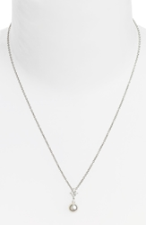 Mikimoto 'Classic Elegance' Akoya Cultured Pearl And Diamond Necklace