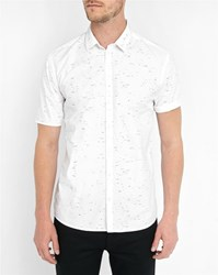 Minimum Blue Neville Pr Short Sleeve Shirt