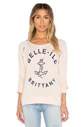 Sundry Belle Ile Sweatshirt Cream