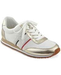 Tommy Hilfiger Vibe Sneakers Women's Shoes White