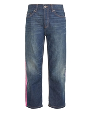 Marc By Marc Jacobs Annie Boyfriend Cropped Jeans