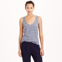 J.Crew Speckled Cotton Tank