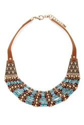 Forever 21 Beaded Collar Necklace