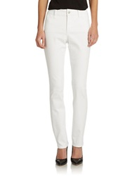 Nydj Petite Sheri Skinny Jeans Optic White