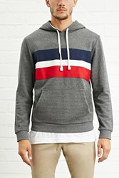 Forever 21 Colorblock Front Hoodie