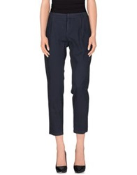 Douuod Casual Pants Dark Blue