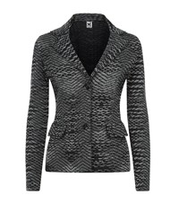 M Missoni Space Dye Knitted Jacket Female Black