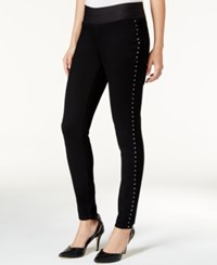 Styleandco. Style Co. Hardware Trim Skinny Jeggings Only At Macy's Black Rinse