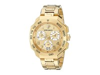 Versace Dylos Chrono Vqc04 0015 Yellow Gold Watches