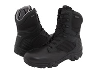 Bates Footwear Gx 8 Gore Tex Side Zip Black Men's Work Boots