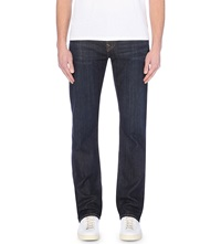 True Religion Ricky Relaxed Fit Straight Jeans Black