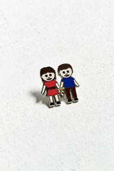 Valley Cruise Press X Hungry Hipsters True Love Pin Brown