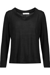 Kain Label Yumi Stretch Modal Sweater Black