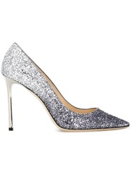 Jimmy Choo 'Romy 100' Pumps Metallic
