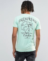 Friend Or Faux T Shirt Green