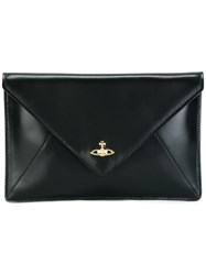 Vivienne Westwood Envelope Clutch Black