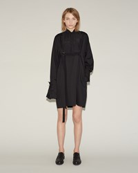 Sacai Classic Shirting Dress Black