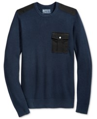 American Rag Men's Uniformity Sweater Only At Macy's Basic Navy