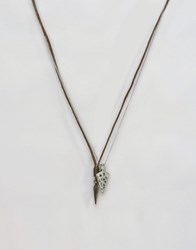 Icon Brand Arrows Necklace Pack Black