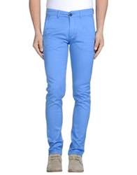 Velour Casual Pants Azure