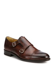 Saks Fifth Avenue Double Monk Strap Shoes