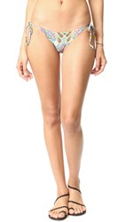 L Space Two Timer Tie Side Bikini Bottoms Multi