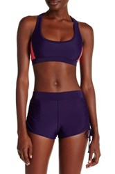 Champion Drawstring Boyshort Purple