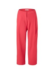 Lavand Cropped Trousers Pink