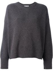 Helmut Lang Round Neck Sweater Grey