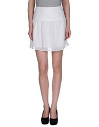 Suncoo Mini Skirts White