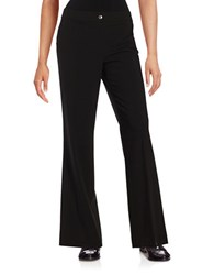 Karl Lagerfeld Wide Leg Dress Pants Noir