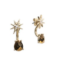 Lonna And Lilly Epoxy Star Ear Jackets Gold