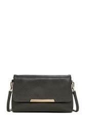 Abro Pebbled Leather Flap Crossbody