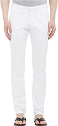 Tomas Maier Men's Denim Trousers White