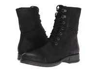 Blondo Pyo Waterproof Black Leather Women's Lace Up Boots
