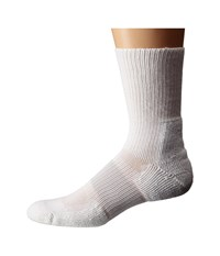 Thorlos Cleated Crew 1 Pack Pair Varsity White 1 Crew Cut Socks Shoes