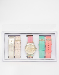 Aldo Larillan Multi Strap Bright Watch Multicoloured