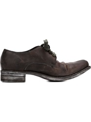 A Diciannoveventitre Lace Up Shoes Brown