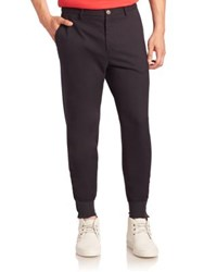 Opening Ceremony Solid Tapered Jogger Pants Charcoal
