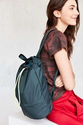 Urban Outfitters Ripstop Drawstring Backpack Green