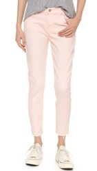 7 For All Mankind The Ankle Skinny Jeans Crystal Pink