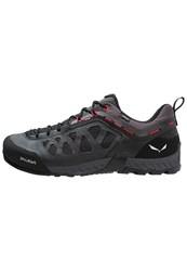 Salewa Ms Firetail 3 Gtx Walking Shoes Black Out Papavero