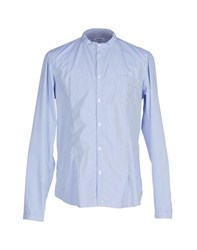Officina 36 Shirts Shirts Men Sky Blue