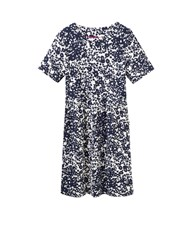 Joules Jersey Printed Dress Navy